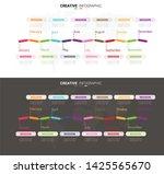 time line  timeline business... | Shutterstock .eps vector #1425565670