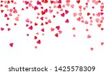 red flying hearts bright love... | Shutterstock .eps vector #1425578309