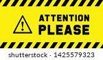 attention please do not enter...   Shutterstock .eps vector #1425579323