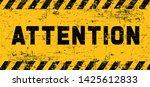 attention please do not enter...   Shutterstock .eps vector #1425612833