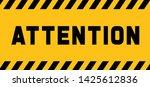 attention please do not enter...   Shutterstock .eps vector #1425612836