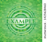 example green emblem with... | Shutterstock .eps vector #1425628463