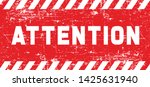 attention please do not enter...   Shutterstock .eps vector #1425631940