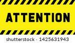 attention please do not enter...   Shutterstock .eps vector #1425631943