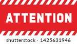 attention please do not enter...   Shutterstock .eps vector #1425631946