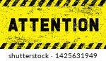 attention please do not enter...   Shutterstock .eps vector #1425631949