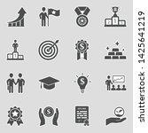 success icons. sticker design.... | Shutterstock .eps vector #1425641219