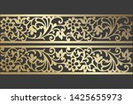 Abstract Ornamental Lace Vector ...