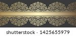 abstract ornamental lace vector ...   Shutterstock .eps vector #1425655979