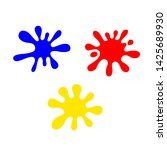 blue red and yellow primary...   Shutterstock .eps vector #1425689930