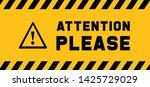 attention please do not enter...   Shutterstock .eps vector #1425729029
