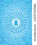 tombstone icon inside light... | Shutterstock .eps vector #1425733586