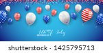 happy independence day of usa ...   Shutterstock .eps vector #1425795713