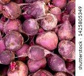 macro photo food root vegetable ... | Shutterstock . vector #1425805349