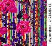watercolor seamless pattern...   Shutterstock . vector #1425838166