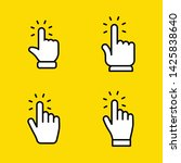 hands clicking icons collection....   Shutterstock .eps vector #1425838640