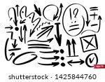 vector hand drawn design...   Shutterstock .eps vector #1425844760