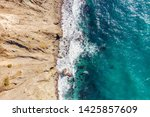 sea and sand coast surface... | Shutterstock . vector #1425857609