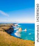 twelve apostles aerial view on... | Shutterstock . vector #1425858260