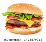 Delicious fast food  burger ...