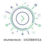 forward arrow line icon. next...   Shutterstock .eps vector #1425884516