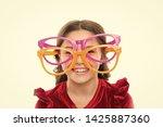 laser correction. eye exercises ... | Shutterstock . vector #1425887360