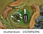 cosmetics by pure natural plant ... | Shutterstock . vector #1425896396