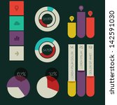 flat design infographic template