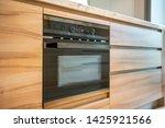 luxury built in microwave oven... | Shutterstock . vector #1425921566
