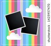 Photo Frame In Kids Scapbook...