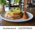 breakfast homemade small... | Shutterstock . vector #1425959063