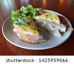 breakfast homemade small... | Shutterstock . vector #1425959066