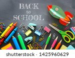 education and back to school... | Shutterstock . vector #1425960629