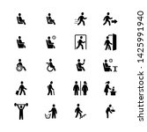 people  pictogram  person  sign ... | Shutterstock .eps vector #1425991940