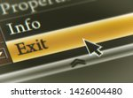 exit button in the digital...