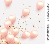 festive background with helium... | Shutterstock .eps vector #1426022150