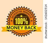 guaranteed label | Shutterstock .eps vector #142602514