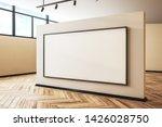 luxury gallery interior with... | Shutterstock . vector #1426028750