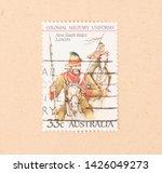 australia   circa 1980  a stamp ...   Shutterstock . vector #1426049273