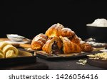 Freshly Baked Croissant With...