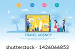 travel agency and services... | Shutterstock .eps vector #1426066853