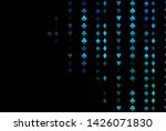 dark blue vector template with... | Shutterstock .eps vector #1426071830