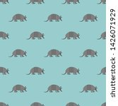Armadillo Pattern Seamless....