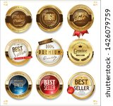 luxury premium golden badges... | Shutterstock . vector #1426079759