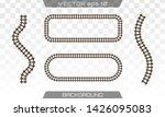 straight tracks art design.... | Shutterstock .eps vector #1426095083