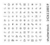 seo icon web develope and... | Shutterstock . vector #1426118819