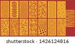 mdf board cnc router mdf laser...   Shutterstock .eps vector #1426124816