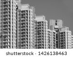housing and construction in... | Shutterstock . vector #1426138463