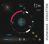 sci fi futuristic interface....