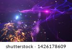 explosion of stars in space....   Shutterstock . vector #1426178609